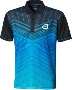 Andro Shirt Letis Zwart/Blauw