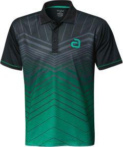 Andro Shirt Letis Zwart/Groen