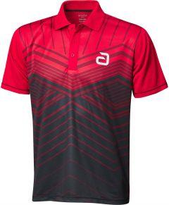 Andro Shirt Letis Rood/Zwart