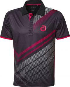 Andro Shirt Liska Zwart/Rood