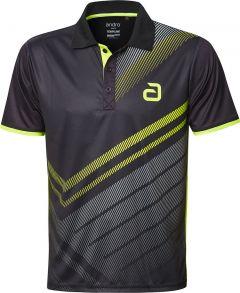 Andro Shirt Liska Zwart/Geel