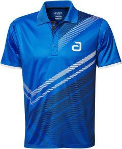 Andro Shirt Liska Blauw/Zwart