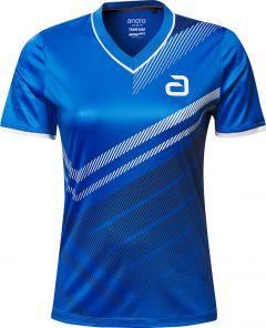 Andro Shirt Liska Women Blauw/Zwart