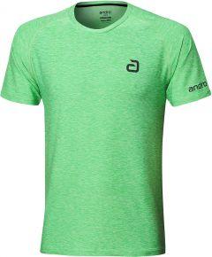 Andro T-Shirt Melange Alpha Groen