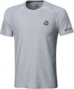 Andro T-Shirt Melange Alpha Grijs