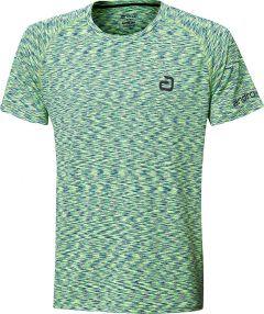 Andro T-Shirt Melange Multicolor Green/Darkblue