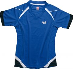 Butterfly Shirt Kido Blue Lady