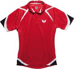 Butterfly Shirt Kido Rood
