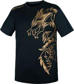 Donic T-Shirt Dragon Zwart/Gold