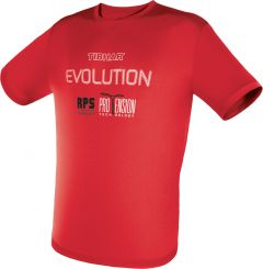 Tibhar T-Shirt Evolution Rood