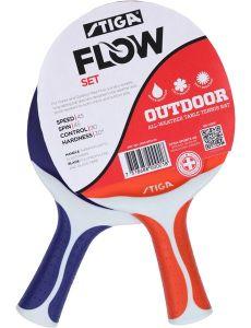 Stiga Flow Set Blauw/Rood