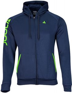 Joola Hoody Performance Blauw/Lime