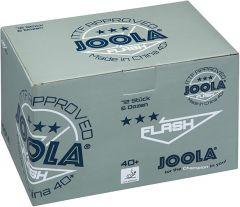 Joola Flash *** 40+ 72 Balls White