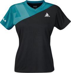Joola Shirt Ace Lady Zwart/Petrol
