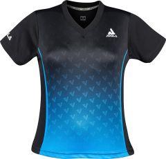 Joola Shirt Viro Lady Zwart/Blauw