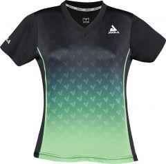 Joola Shirt Viro Lady Zwart/Groen