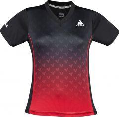 Joola Shirt Viro Lady Zwart/Rood
