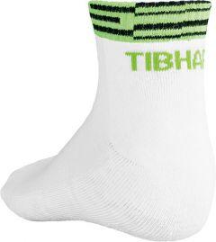 Tibhar Sokken Line Wit/Groen