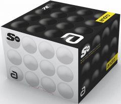 Andro Trainingsball* Poly S White 72balls