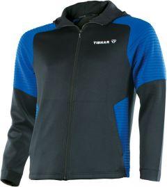 Tibhar Pro Hoodie Zwart/Blauw