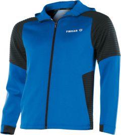 Tibhar Pro Hoodie Blauw/Zwart
