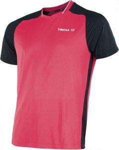 Tibhar TT-Shirt Pro Rood/Zwart