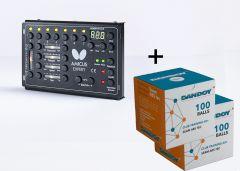 Butterfly Robot Amicus Expert + 200 Dandoy balls Club Training 40+ ABS