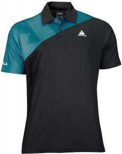 Joola Shirt Ace Zwart/Petrol Blauw