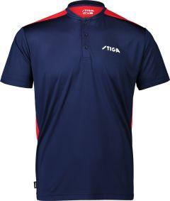 Stiga Shirt Club Marine/Rood