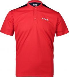 Stiga Shirt Club Rood/Marine