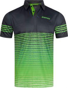 Donic Shirt Libra Zwart/Groen