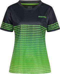 Donic Shirt Libra Lady Zwart/Groen