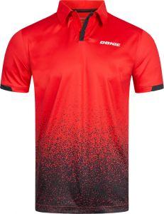 Donic Shirt Splash Rood/Zwart