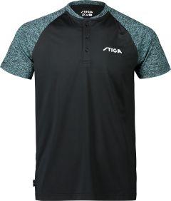 Stiga Shirt Team Zwart/Groen