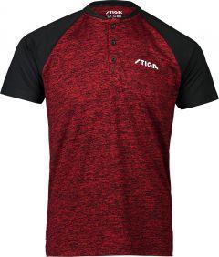Stiga Shirt Team Rood/Zwart