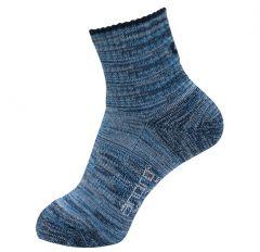 Andro Sokken Melange Blauw