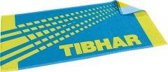 Tibhar Handdoek Spectra Blauw/Lime Groen