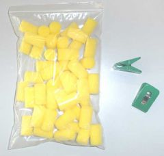 Joola Sponges and Clips