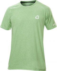 Andro T-Shirt Alpha Melange Pro Groen