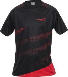 Yasaka T-Shirt Callisto Zwart/Rood