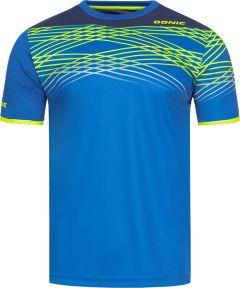 Donic T-Shirt Clix Royalblauw/Marine