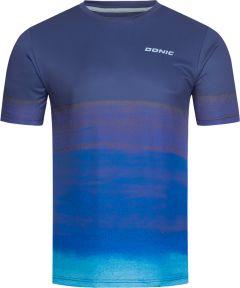 Donic T-Shirt Fade Marine/Blauw