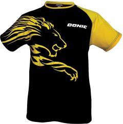 Donic T-Shirt Lion Zwart/Geel