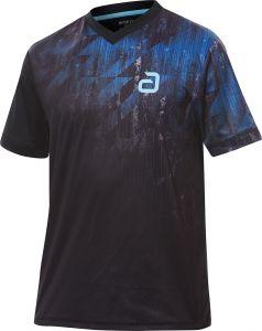 Andro T-Shirt Narcas Zwart/Blauw
