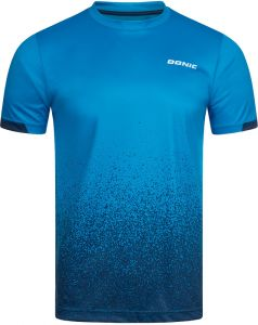 Donic T-Shirt Split Blauw/Navy