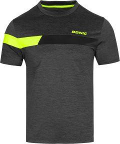 Donic T-Shirt Stunner Antraciet Melange