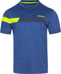 Donic T-Shirt Stunner Blauw Melange