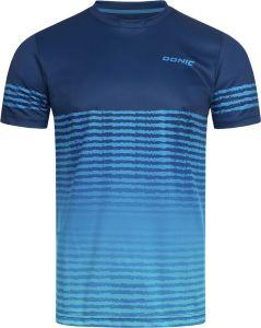 Donic T-Shirt Tropic Navy/Blauw