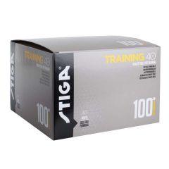 Stiga Training ABS 40+ 100 balls Oranje