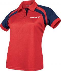Tibhar Shirt World Lady Rood/Navy